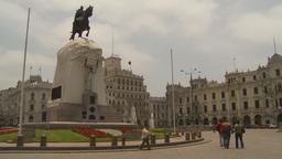 HD2009-11-15-47 Plaza San Martin Lima Footage