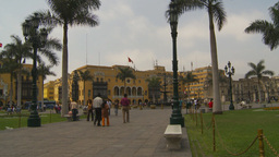 HD2009-11-15-59 Plaza de Armas Lima Stock Video Footage