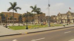 HD2009-11-15-61 Plaza de Armas Lima Stock Video Footage
