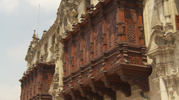 HD2009-11-15-63 intricate carved building Footage