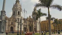 HD2009-11-16-4 Plaza mayor Lima Stock Video Footage
