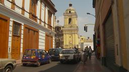 HD2009-11-16-8 streetlife Lima Stock Video Footage
