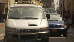 HD2009-11-16-14 traffic Lima Stock Video Footage