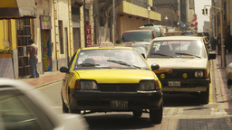 HD2009-11-16-14 traffic Lima Stock Video Footage