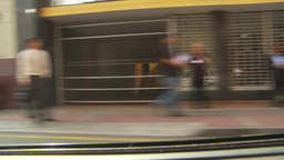 HD2009-11-16-24 drive through commercial district Stock Video Footage