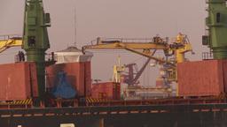 HD2009-11-17-3 cargo ship Stock Video Footage