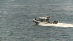 HD2009-11-18-7 Chilean patrolboat Stock Video Footage