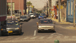 HD2009-11-18-21 Arica streetlife traffic Stock Video Footage