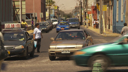 HD2009-11-18-21 Arica streetlife traffic Stock Video Footage