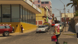 HD2009-11-18-23 Arica streetlife traffic Stock Video Footage