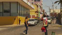 HD2009-11-18-23 Arica streetlife traffic Footage
