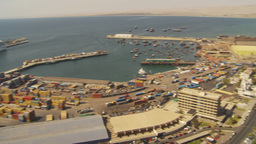 HD2009-11-18-37 Arica cityscape pan Stock Video Footage