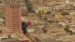 HD2009-11-18-43 Arica aerial city Z Footage