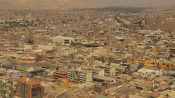 HD2009-11-18-45 Arica aerial city Footage