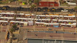 HD2009-11-18-46 Arica aerial market Stock Video Footage