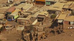 HD2009-11-18-49 Arica aerial slum Stock Video Footage