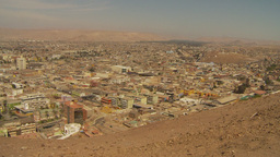 HD2009-11-18-51 Arica aerial city Footage