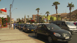 HD2009-11-18-53 Arica traffic Stock Video Footage
