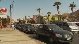 HD2009-11-18-53 Arica traffic Stock Video Footage