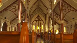 HD2009-11-18-55 Arica church by eiffel Stock Video Footage