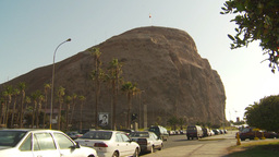 HD2009-11-18-63 Arica cape and traffic Stock Video Footage