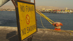 HD2009-11-19-1 no smoking sign spanish Stock Video Footage