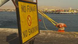 HD2009-11-19-1 no smoking sign spanish Footage