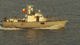HD2009-11-19-5 Chilean navy patrolboat Stock Video Footage