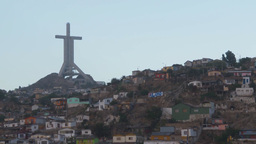 HD2009-11-19-11 Coquimbo and Cross Stock Video Footage