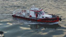 HD2009-11-19-13 pilot boat Stock Video Footage