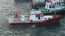 HD2009-11-19-13 pilot boat Stock Video Footage