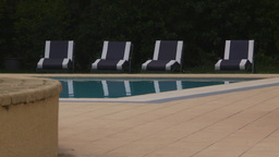 HD2009-11-24-3 poolside montage Stock Video Footage