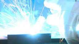 HD2009-9-8-3 welding Stock Video Footage