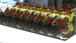 HD2009-9-12-4 sweet desserts Stock Video Footage