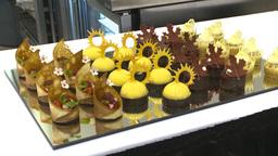 HD2009-9-12-4 sweet desserts Stock Video Footage
