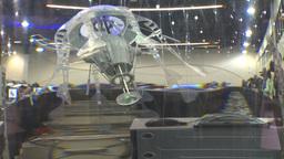 HD2009-8-13-2 robot jellyfish Stock Video Footage