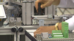HD2009-8-13-4 industry mfg plant montage Stock Video Footage