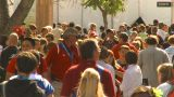 HD2009-8-15-3 Festival Crowd stock footage