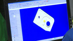 HD2009-8-16-1 computer CAD animation Stock Video Footage