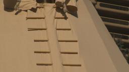 HD2009-9-19-3 teepee z Stock Video Footage