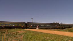HD2009-9-31-24 steam train Stock Video Footage