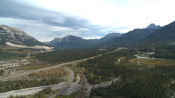 HD2009-9-33-3 aerial Bow valley Footage