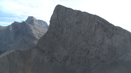 HD2009-9-33-10 aerial mountains Stock Video Footage