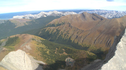 HD2009-9-33-16 aerial mountains Stock Video Footage