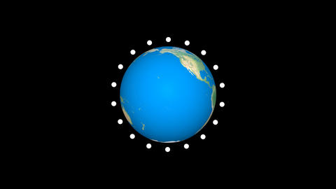earth animation alpha Animation