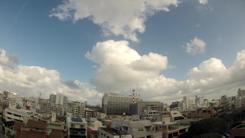 Urban District In Okinawa stock footage