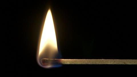 Match lighting up Footage