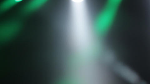 Stage And Lights Before Show stock footage