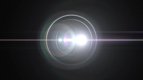 Opening intro Flash light flare B 1 white 4k Animation