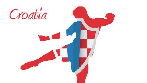 Croatia world cup 2014 animation with player Animation